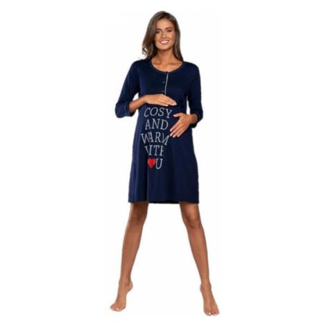 Dámská noční košile Italian Fashion Balsam | tmavě modrá