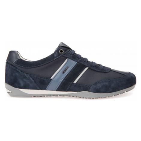 Geox U WELLS tmavě modrá - Pánská volnočasová obuv