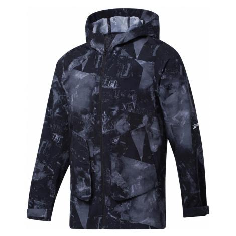 Bunda Reebok Printed Utility Jacket Černá