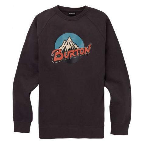 MIKINA BURTON RETRO MOUNTAIN CREW - černá