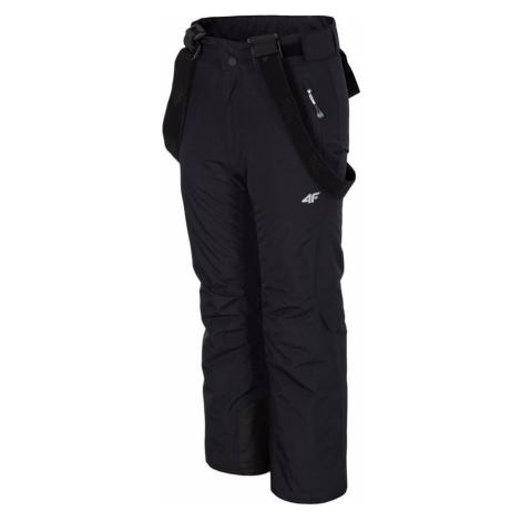 Chlapecké lyžařské kalhoty J4Z17-JSPMN300-60 BLACK 4F