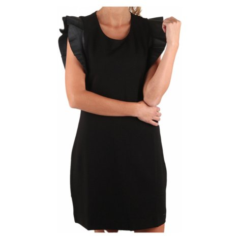 Černé balněné šaty - GAS