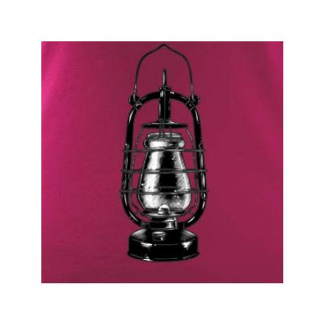 Stará petrolejová lampa - Triko dámské Elegance