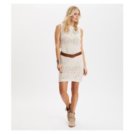 Šaty Odd Molly Locomotion Dress - Bílá