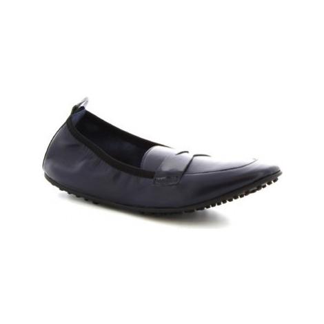 Leonardo Shoes 384-13/1102 NAPPA BLU Modrá