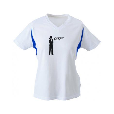 Funkční tričko dámské James Bond