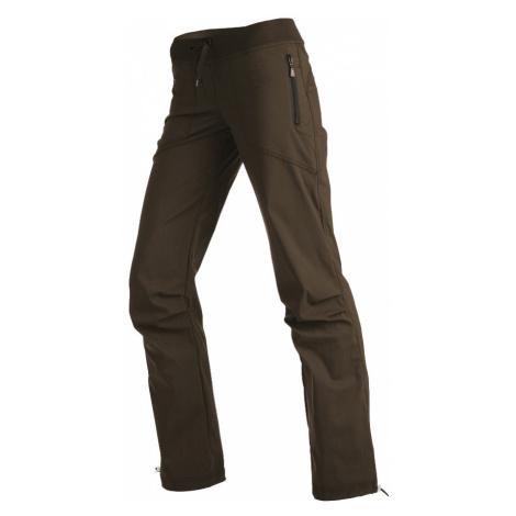 LITEX Kalhoty dámské dlouhé bokové. 99570414 hnědá