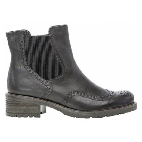 Kožená vysoká obuv Cellbes
