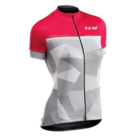 Northwave ORIGIN W růžová - Dámský dres na kolo North Wave