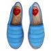 Espadrilky LOVE MOSCHINO - JA10322G0AJW1702 Turchese