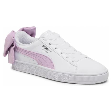 Sneakersy PUMA - Basket Bow Sb Wn's 367353 02 Puma White/Winsome Orchid
