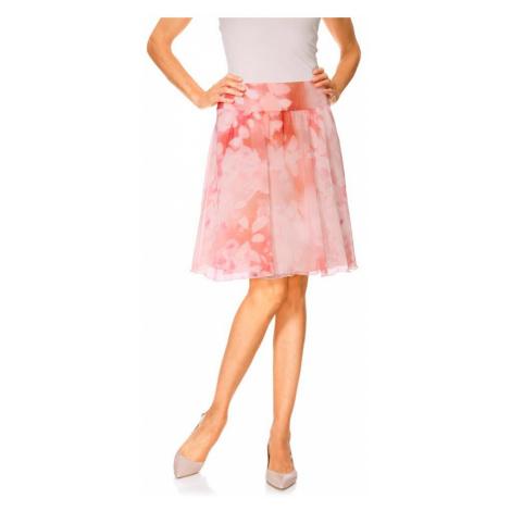 HEINE DÁMSKÁ ŠIFONOVÁ SUKNĚ HEINE, sukně barevná