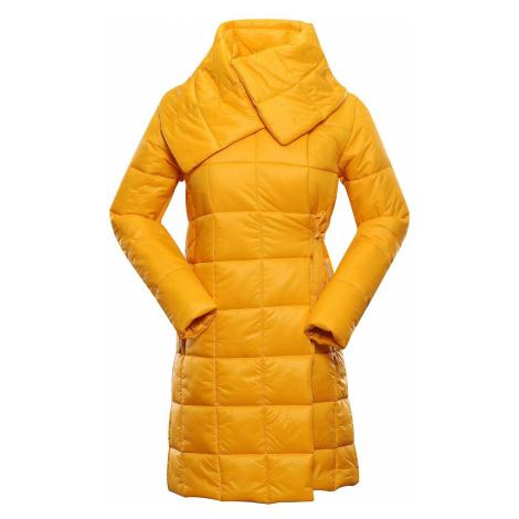 Dámský kabát Alpine Pro IKMA - žlutá
