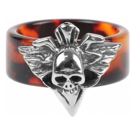 prsten ETNOX - Brown Skull - SR1101