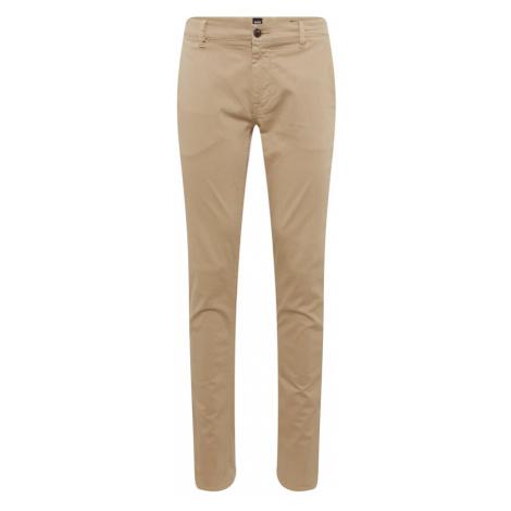 BOSS Chino kalhoty velbloudí Hugo Boss