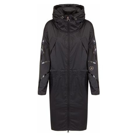 Kabát Adidas by Stella McCartney LONG PARKA W.R. černá