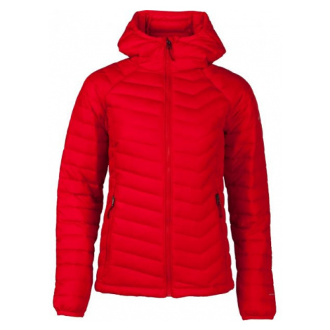 Columbia POWDER LITE HOODED JACKET červená - Dámská bunda