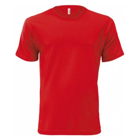Unisex Tričko Classic AF - Coca červená