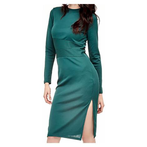 Dlouhé šaty s rozparkem Guess
