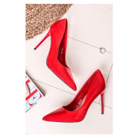 Červené lodičky Alvena Belle Women