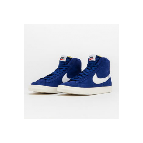 Nike Blazer Mid '77 Suede deep royal blue / white - white