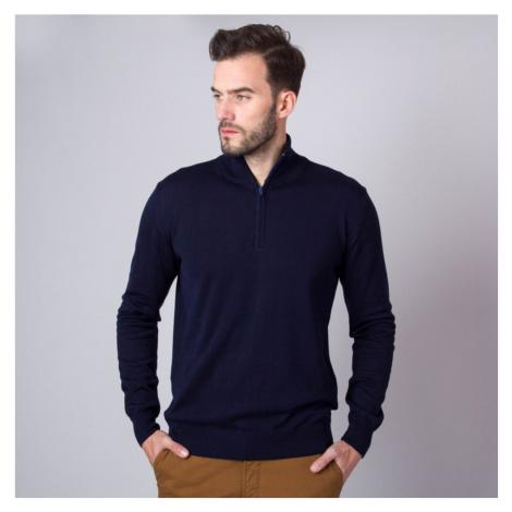 Pánský svetr tmavě modré barvy 11267 Willsoor