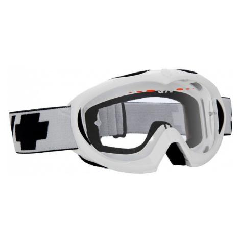 SPY TARGA MINI MX WHITE 14-15 - CLEAR AF - bílá