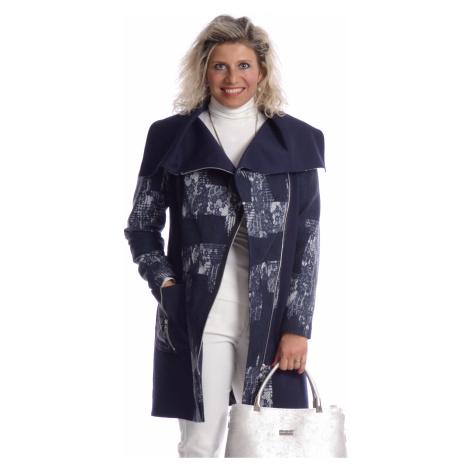 Kabát límec patchwork 6018 Tolmea