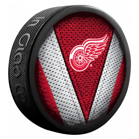 Puk Sher-Wood Stitch NHL Detroit Red Wings