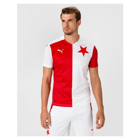 Puma SK Slavia Home Replica Triko Červená Bílá