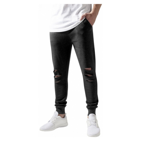 Cutted Terry Pants - charcoal Urban Classics