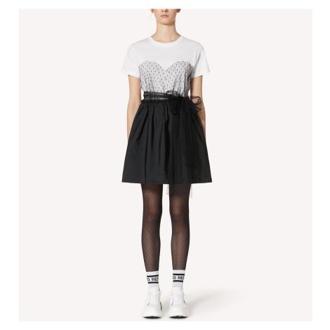 Černo-bílé šaty - RED VALENTINO