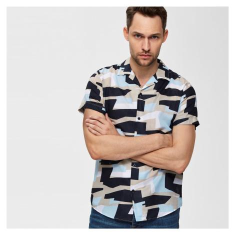 Barevná vzorovaná košile Regular Art Selected