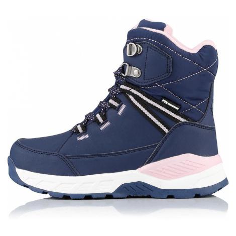 ALPINE PRO SALCHO Dětská zimní obuv KBTP203602 mood indigo