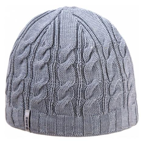 Pletená merino čepice Kama A110