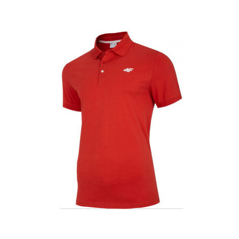 4F Men's T-shirt Polo NOSH4-TSM007-62S ruznobarevne