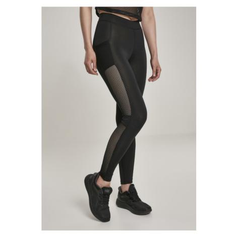 Ladies Mesh Side Stripe Leggings Urban Classics
