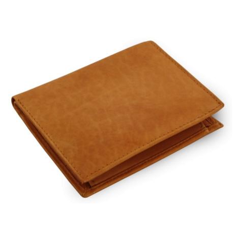 Světle hnědá pánská kožená peněženka Jordan Arwel