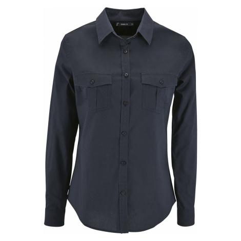 SOĽS Dámská košile BURMA WOMEN 02764228 Dark blue SOL'S