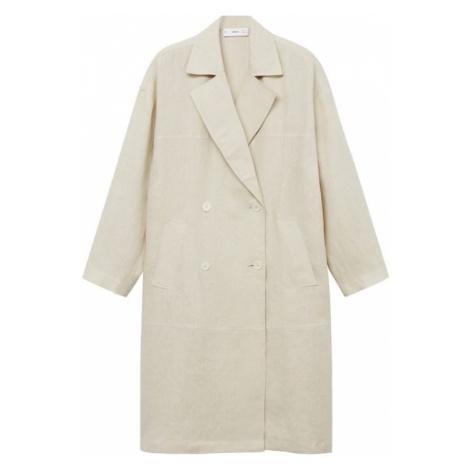 MANGO Přechodný kabát 'Camil-I' béžová