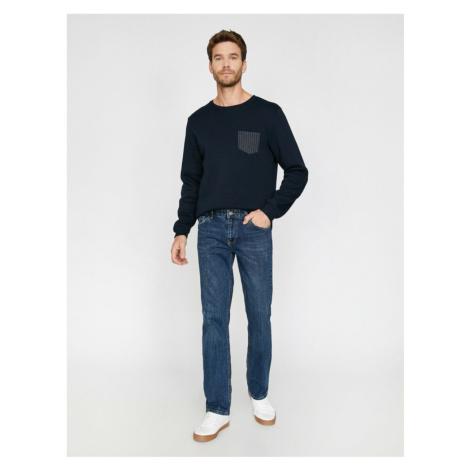 Koton Men's Robert Regular Fit Jeans