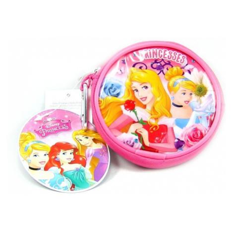 Dívčí kulatá peněženka Princess Disney