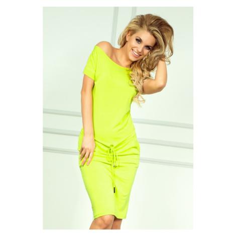 Neonově limetkové sportovní šaty model 4975269 NUMOCO
