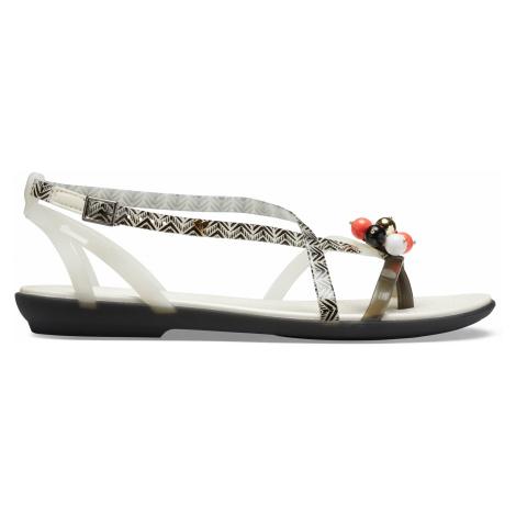 Crocs Drew X Crocs Isabella G Sndl W Black/White W6