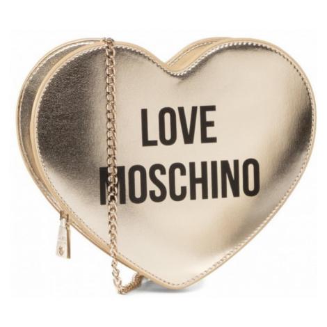 LOVE MOSCHINO LOVE MOSCHINO dámská zlatá crossbody kabelka