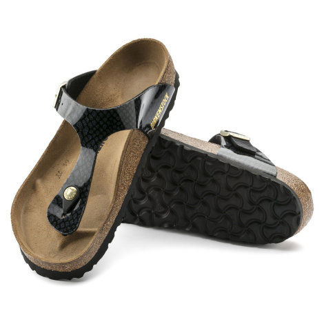 Birkenstock Gizeh Magic Snake Black 1009113