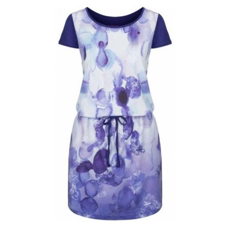 Loap ALKYRA fialová - Dámské šaty