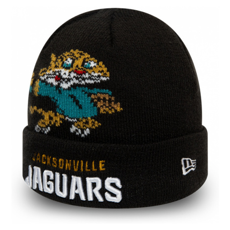 Dětská zimní čepice New Era Infant Mascot Cuff Knit NFL Jacksonville Jaguars