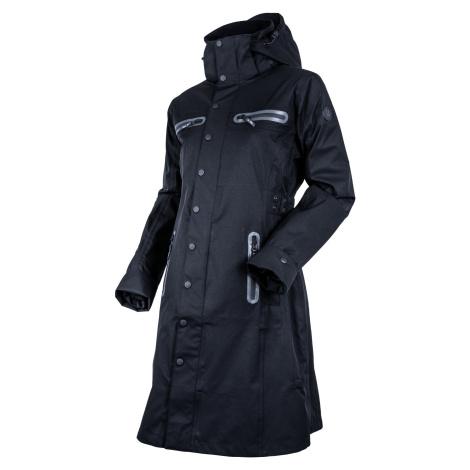 Kabát nepromokavý Mid Trench UHIP, dámský, jet black