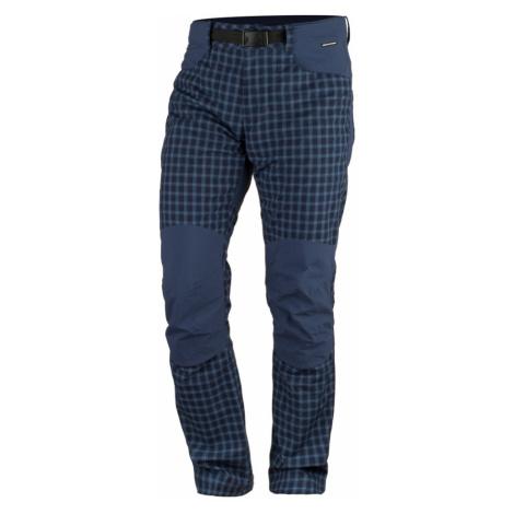 NORTHFINDER BLINSTER Pánské kalhoty NO-3701OR387 modrá
